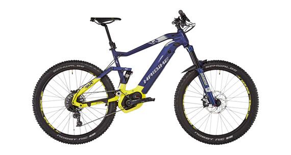 HAIBIKE SDURO FullSeven LT 7.0 Rower elektryczny Full  żółty/niebieski
